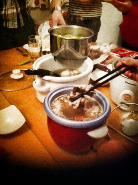 Hot Pot with Rice Cookers
