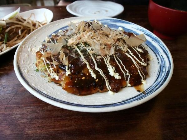 Okonomiyaki. Photo Credit: Young Ah Kim