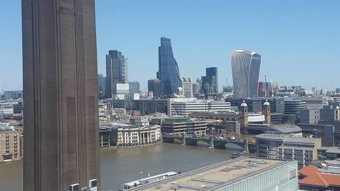 Towards the City from behind the Tate. (New Observation Deck) Photo credit: Katharine Groves