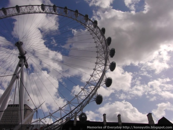 And here's a photo of London Eye